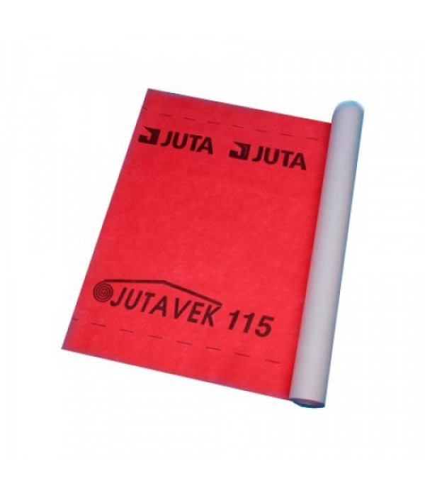 Гидроизоляционная плёнка Ютавек 115 (серый) 75 м2