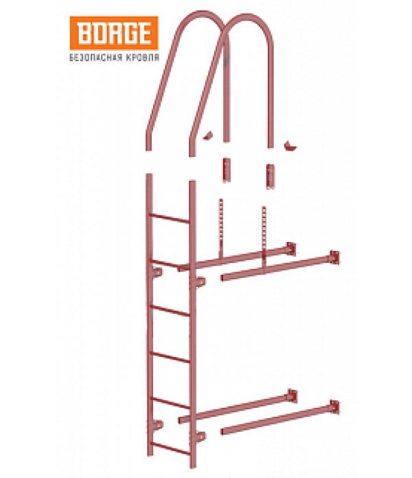 Комплект лестница фасадная