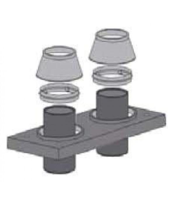 Верхний комплект (изоляция) +2х2 вент UNI